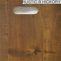 Rustic B Hickory