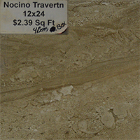 Nocino Travertine 12x24