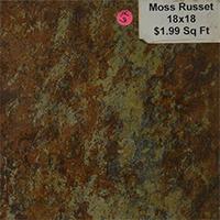 Moss Russet 18x18