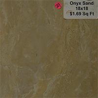 Onyx Sand 18x18