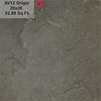 AV12 Grigio 20x20