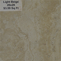 Light Beige 20x20