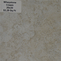 Wheystone Cream 20x20