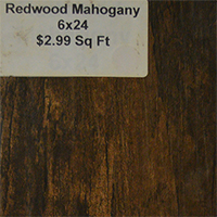 Redwood Mahogany 6x24