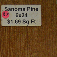 Sanoma Pine 6x24