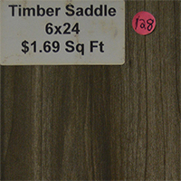 Timber Saddle 6x24