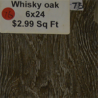 Whisky Oak 6x24